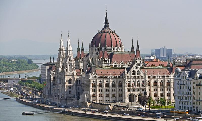 Hungarian Parliament Building, Budapest
