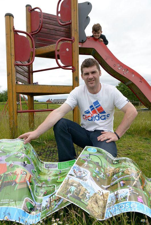 Damian Macdonald chairman of Caol Play. (Picture: Iain Ferguson, the Write Image)