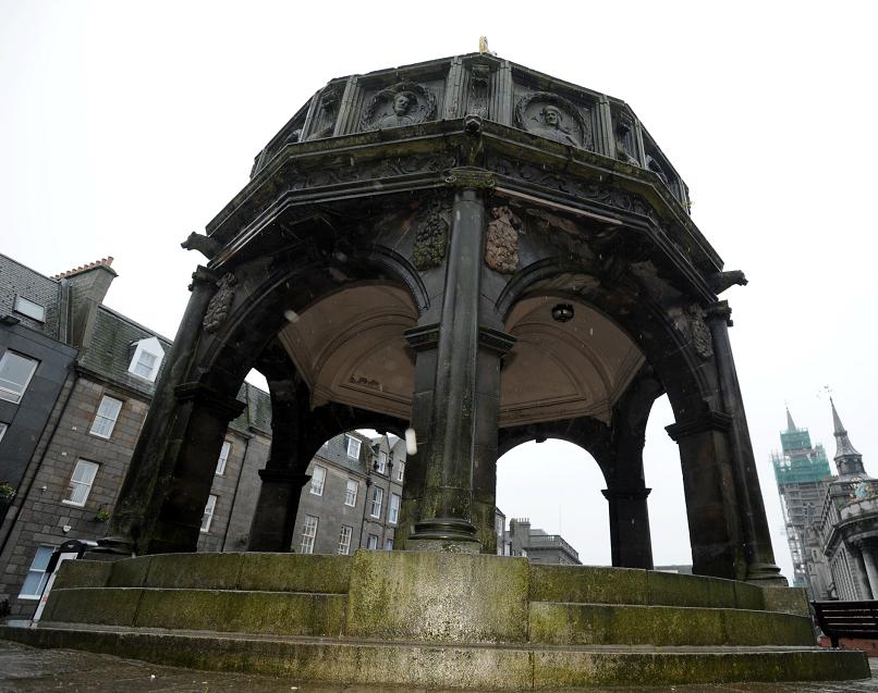 The Castlegate's Mercat Cross