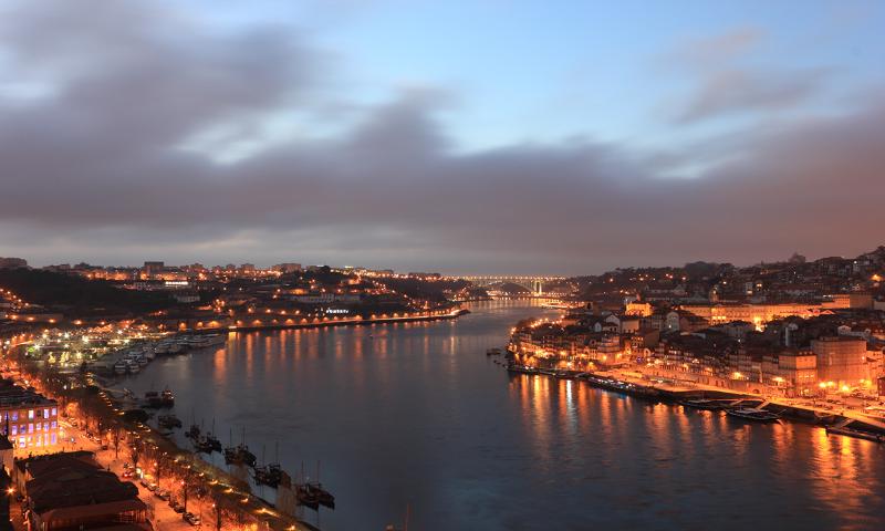 The River Douro, Porto