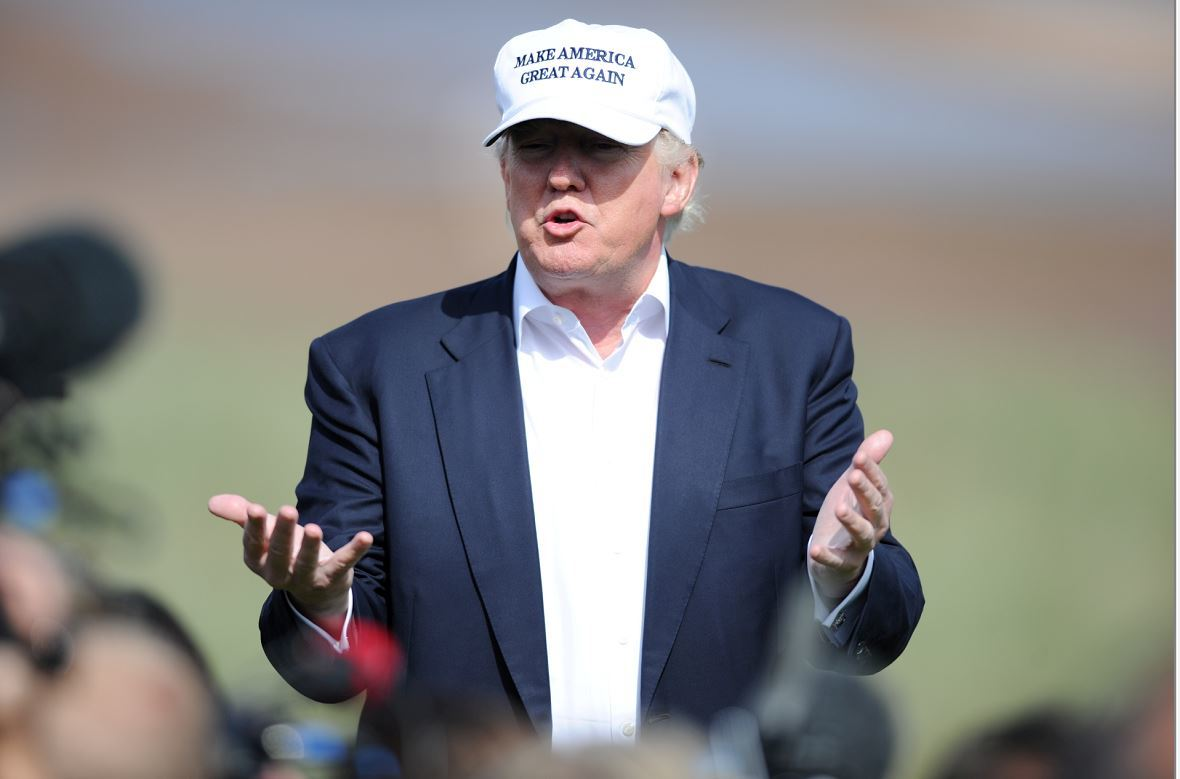 Donald Trump could soon be allowed to fly two flags at his Menie golf course