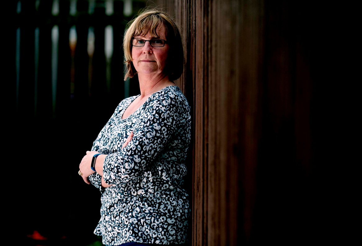 Moray Women's Aid service manager Elle Johnston fears the charity may have to cut back due to a funding shortfall.