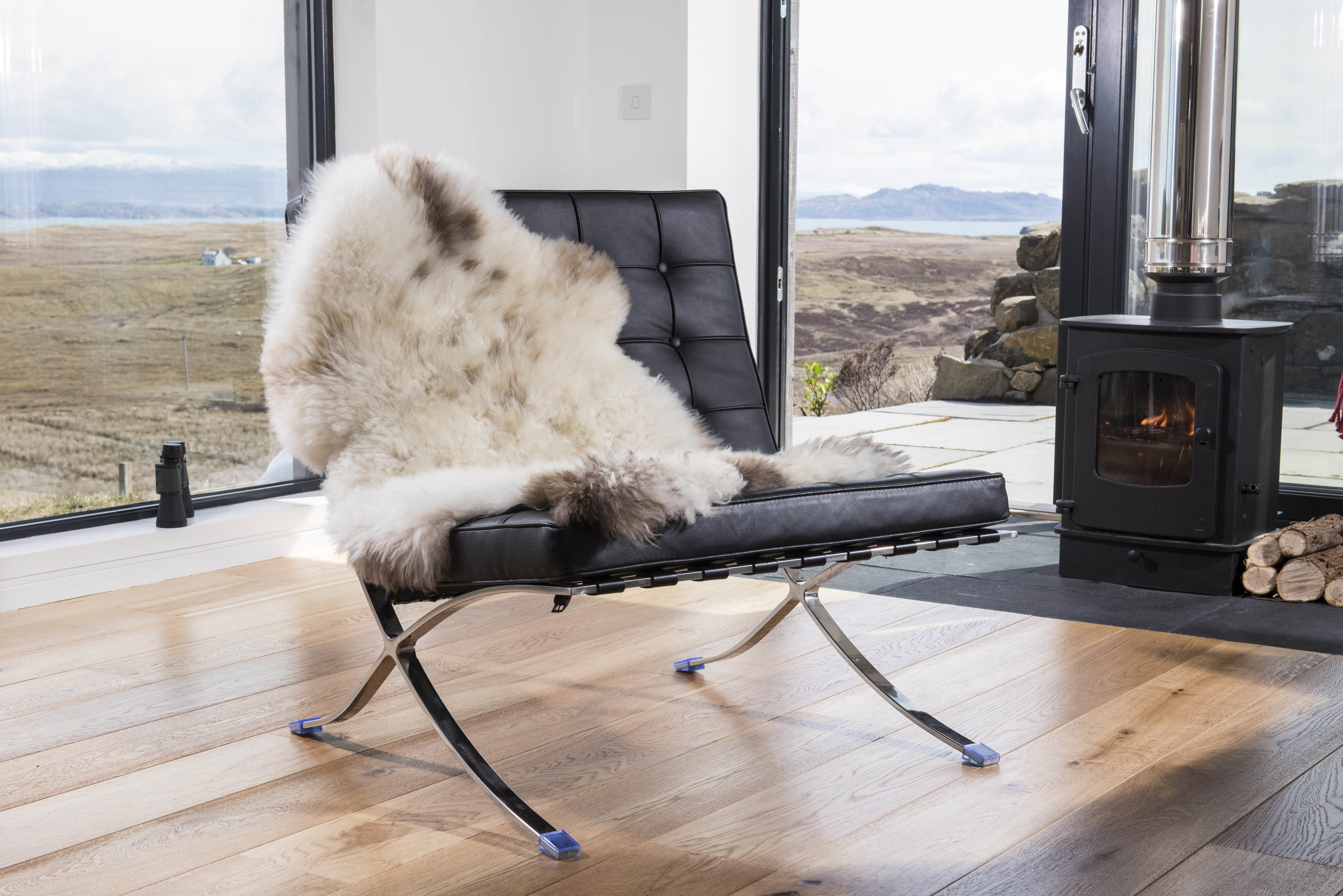 "The Stark family in the North love their saying; ""Winter is coming"". Now you can keep warm too  with these beautiful rugs from Skye Skyns. Prices range from £15 to £650. See www.skyeskyns.co.uk"
