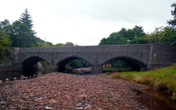 Kiachnish Bridge on the A82 Fort William to Glasgow Road