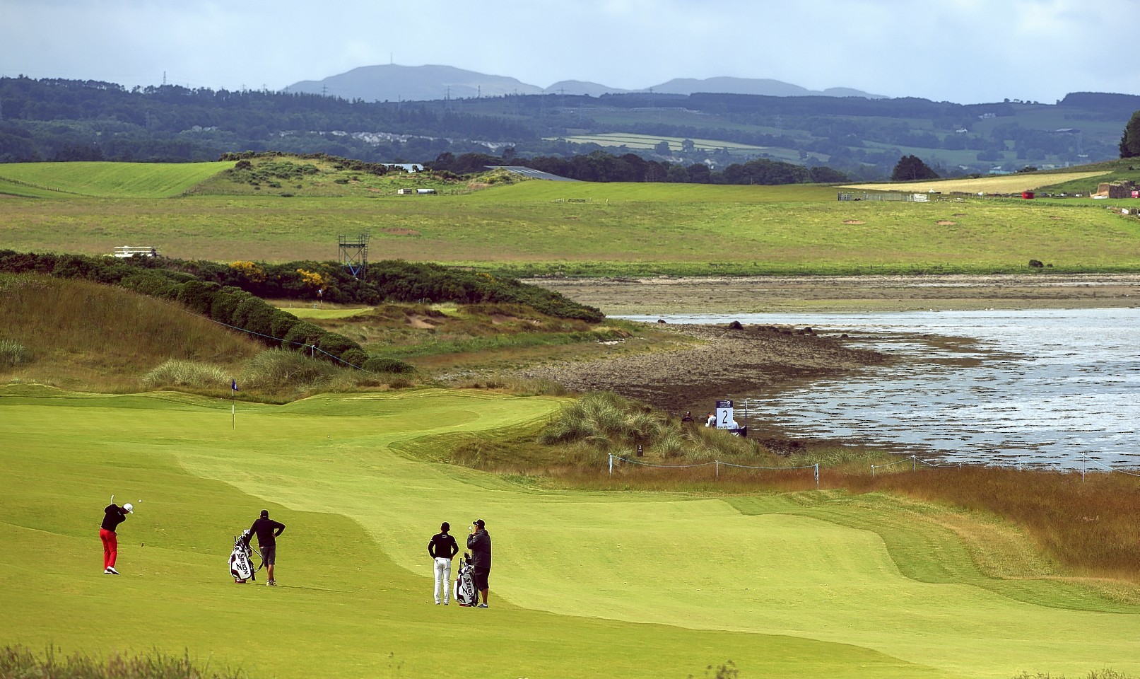 New flights are helping boost visitor numbers at Castle Stuart