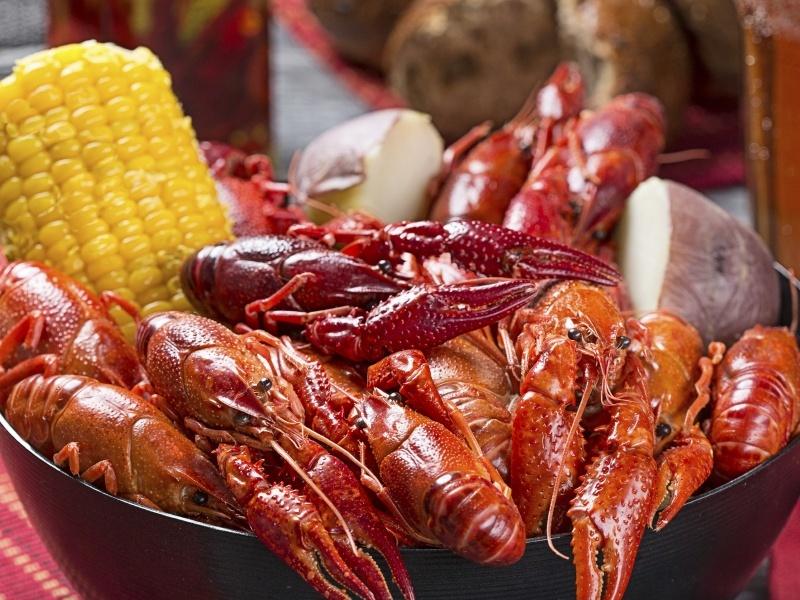 Crawfish, New Orleans