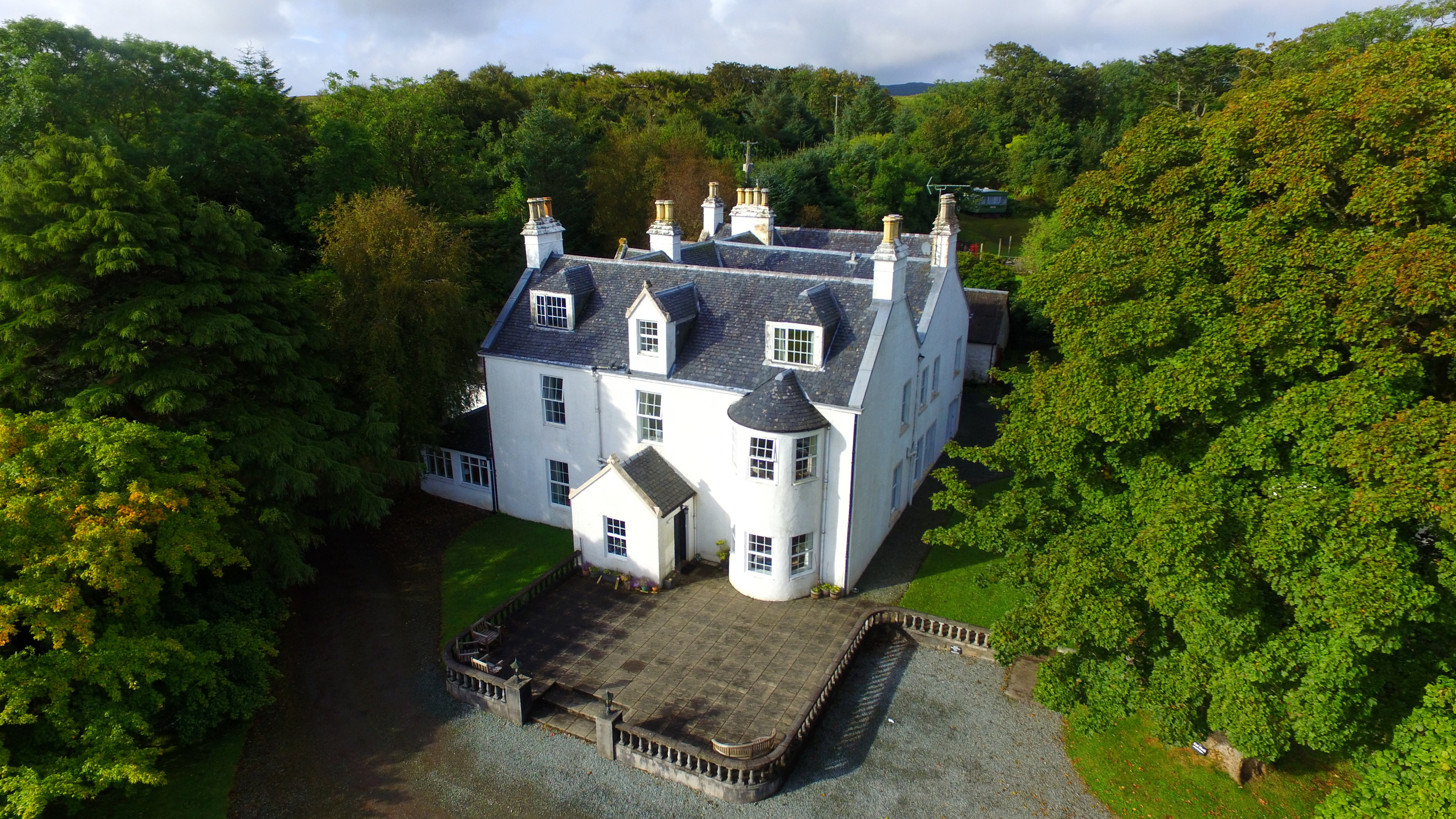 Greshornish House is on the market for offers over £725,000.