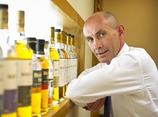 Edrington chief executive Ian Curle