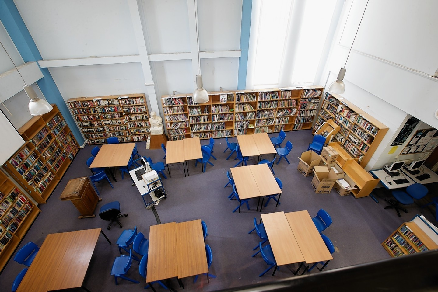 Inverness Royal Academy library 1977-2016
