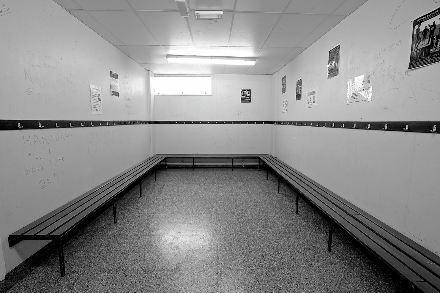 Inverness Royal Academy sports changing rooms 1977-2016