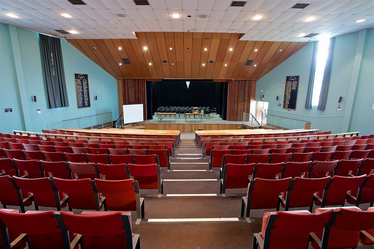 Inverness Royal Academy theatre room 1977-2016