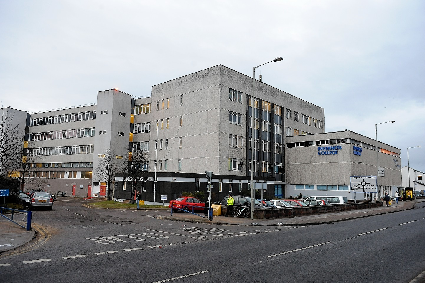 The former Inverness College on Longman Road