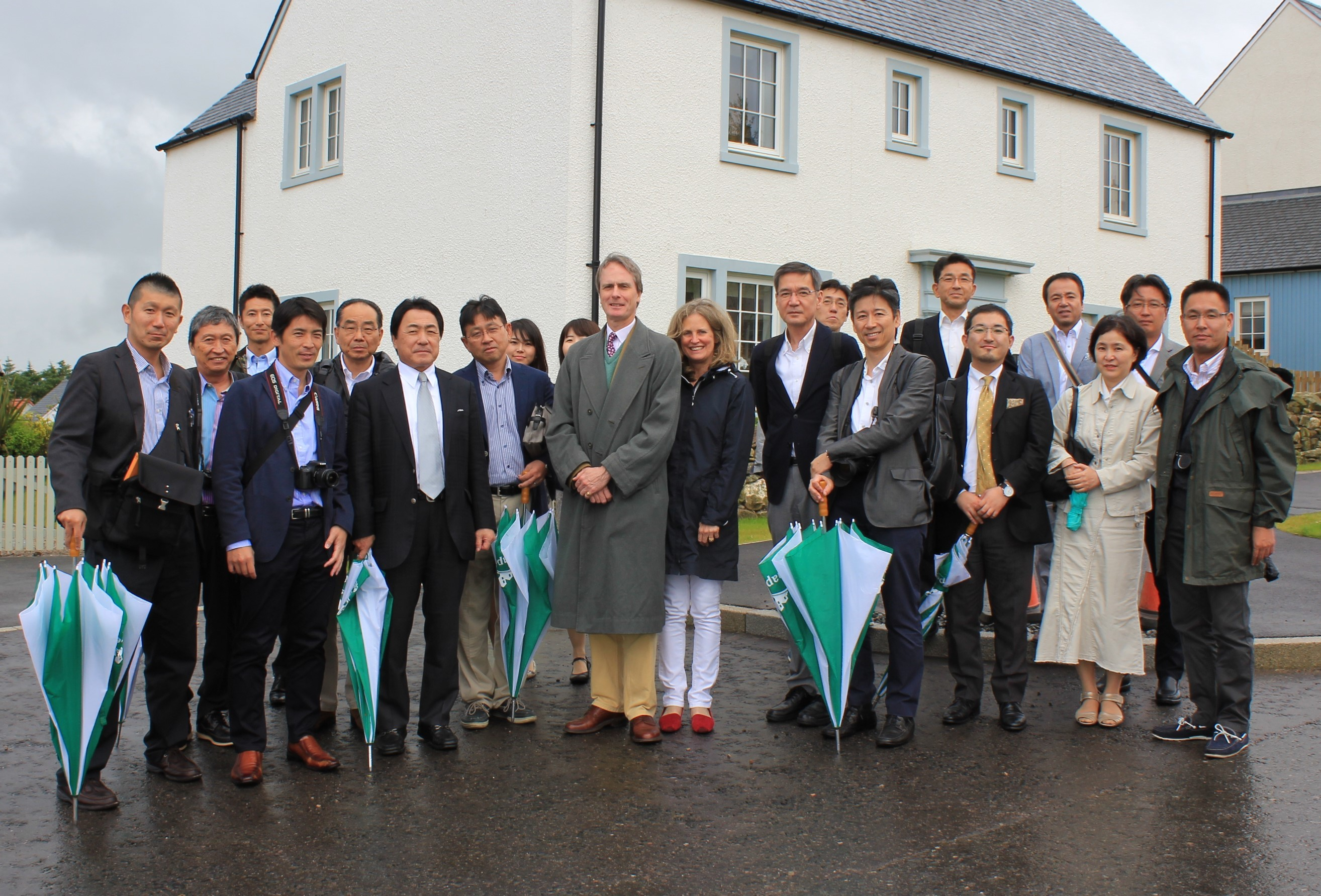 Japanese Study Group Learn from Chapelton