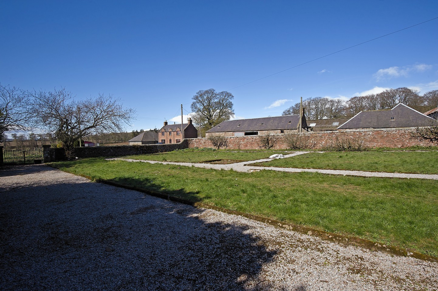 Nether Thainston Farm, which stretches to 299 acres, is among the lots on offer