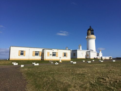 A room in a cottage, next to Noss Head Lighthouse is being advertised for £90 a week.