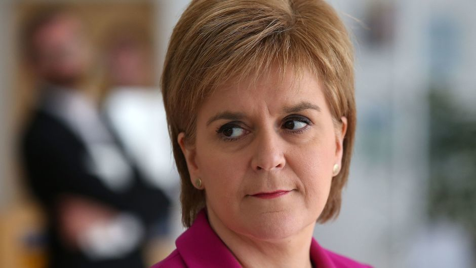 Nicola Sturgeon said that while Theresa May has said 'Brexit means Brexit', for Scotland, 'remain means remain'
