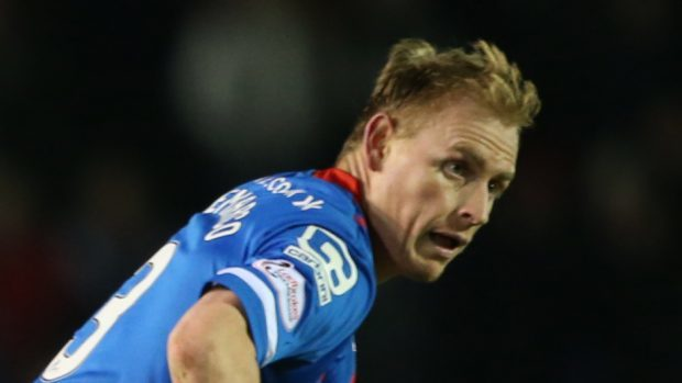 Carl Tremarco could remain with Caley Thistle until 2019.