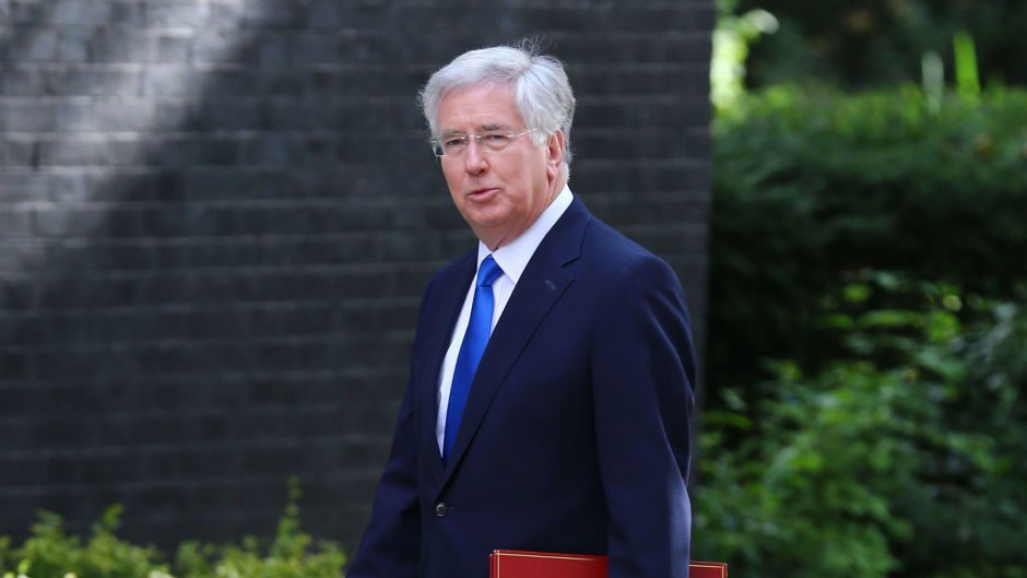 Defence Secretary Michael Fallon also attended David Cameron's final Cabinet meeting as PM
