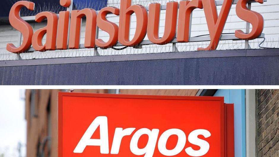 Argos shops are still open within larger Sainsburys