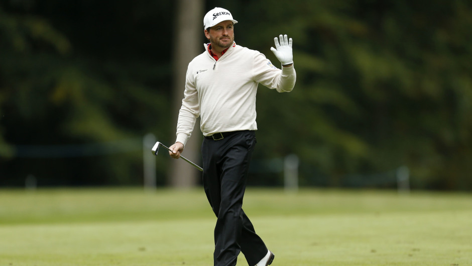 Graeme McDowell was in contention at the Aberdeen Asset Management Scottish Open