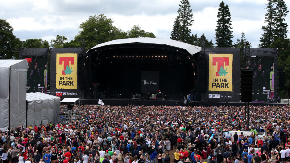 Two teenagers died as T in the Park got under way in Perthshire