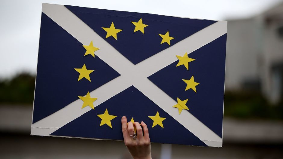 The referendum on the UK's membership of the European Union saw Scotland vote to stay while the UK backed leaving