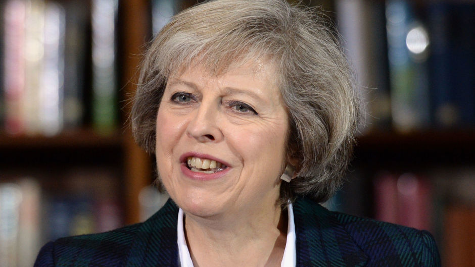 Home Secretary Theresa May is the frontrunner