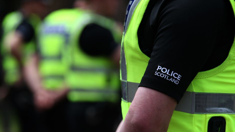 "The Scottish Police Federation has claimed the situation is ""dire"""