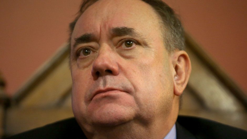 SNP Foreign Affairs spokesperson Alex Salmond