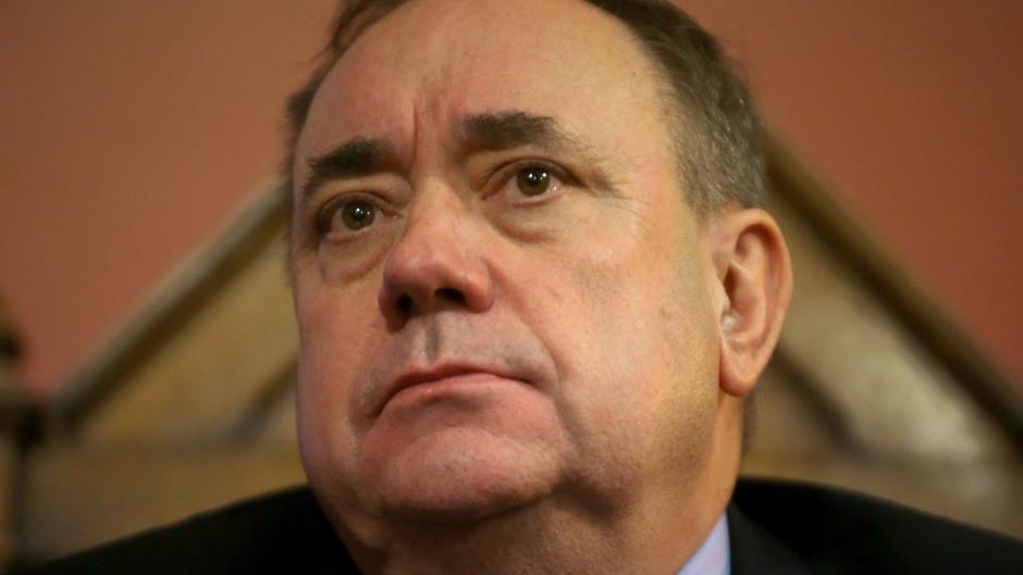 SNP Foreign Affairs spokesperson Alex Salmond
