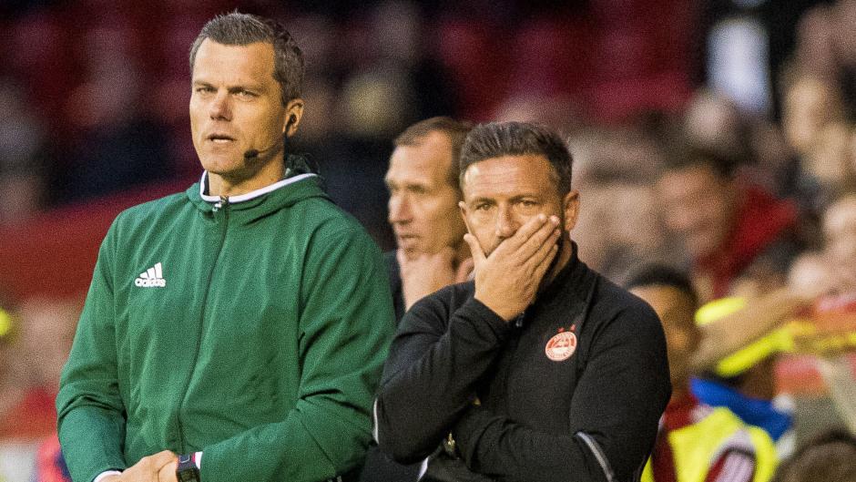 Aberdeen manager Derek McInnes was relieved to progress