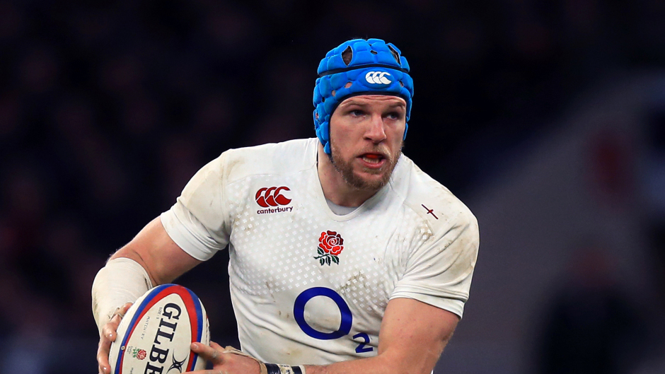 England and Wasps star James Haskell
