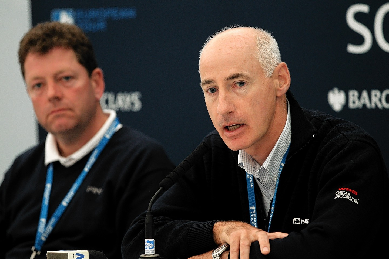 Tournament Director Mike Stewart