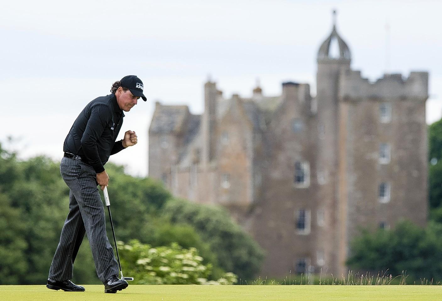 Phil Mickelson at Castle Stuart