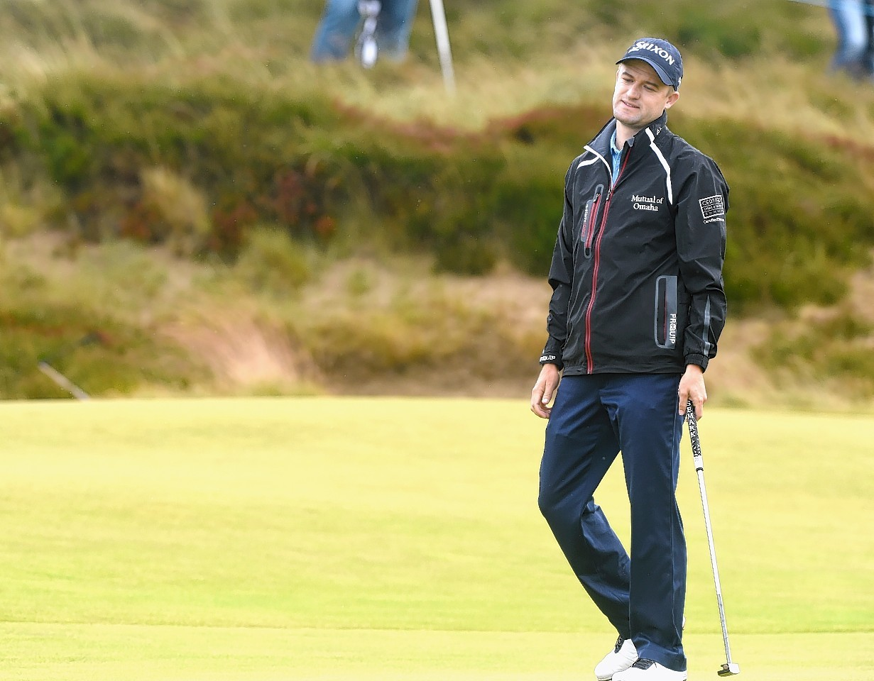 Russell Knox: Failed to make Darren Clarke's team.
