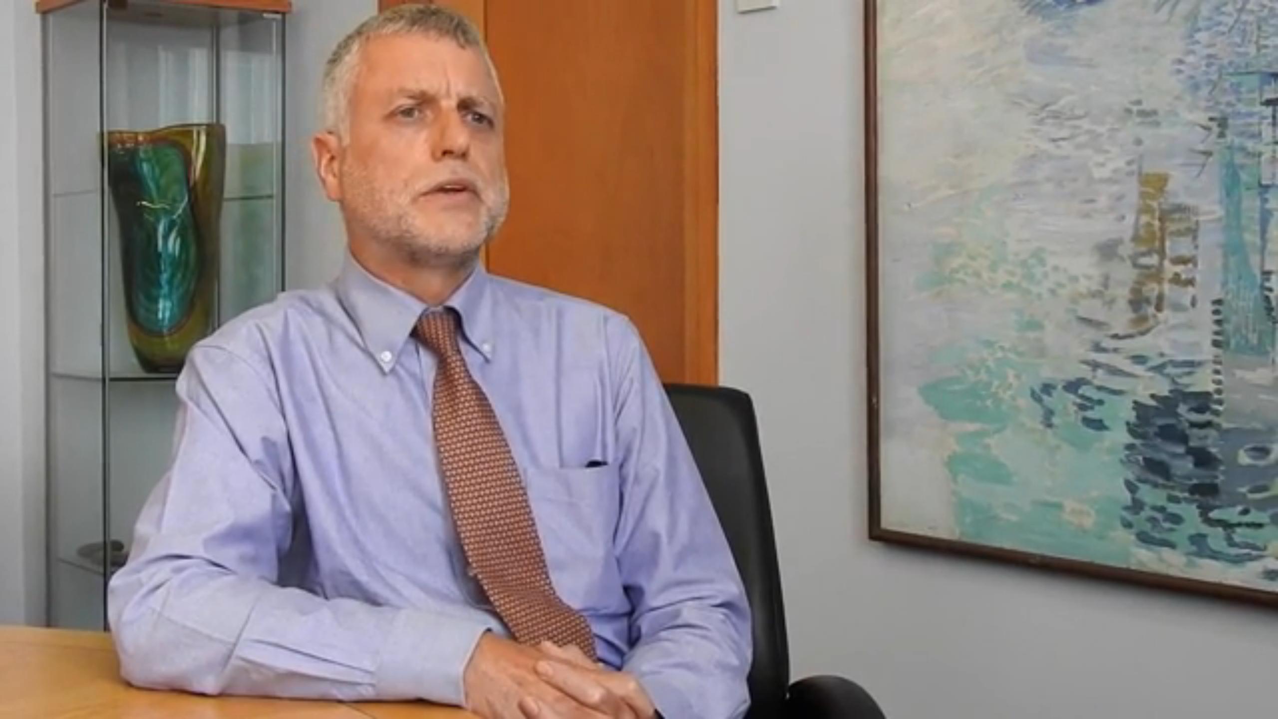 Highland education director Bill Alexander