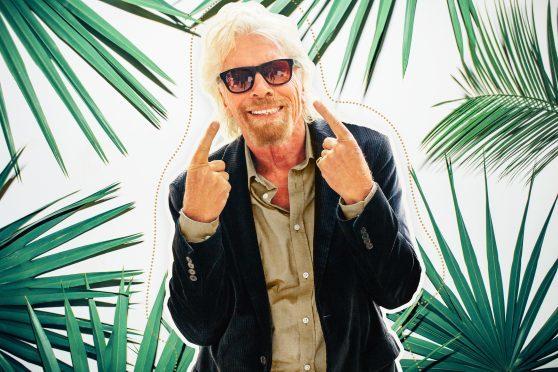 Richard Branson has endorsed a north sunglasses company