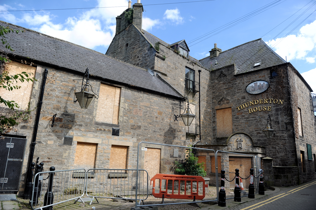 Elgin's Thunderton House could be about to reopen its doors once again.