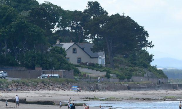 Nairn's east beach.