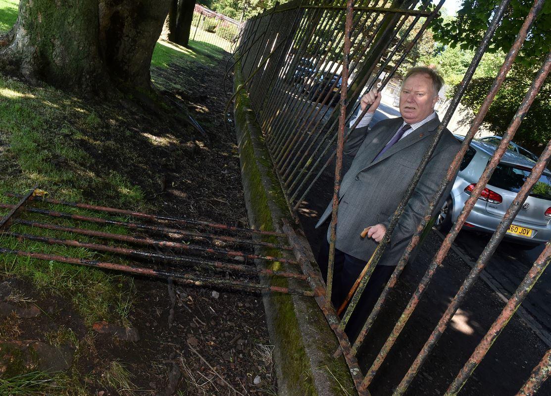 Councillor Bill Cormie. (Picture: Colin Rennie)
