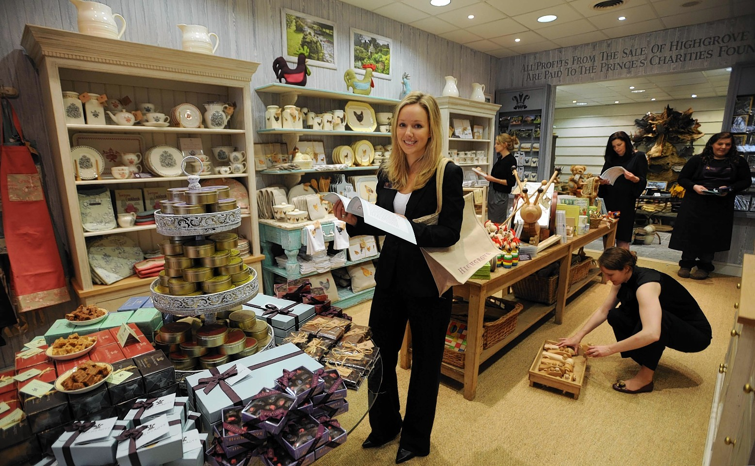 A Highgrove Shop is coming to Ballater