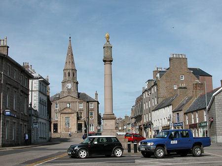 Peterhead's town centre