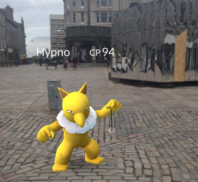 Pokemon in Castle Gate
