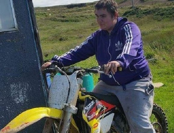 Eddie Laing, 19, was killed when his car struck an unoccupied house by the side of the A99.