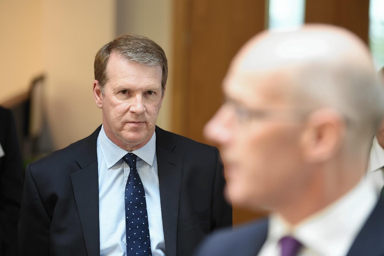 Alex Paterson's leadership was praised by Deputy First Minister John Swinney.