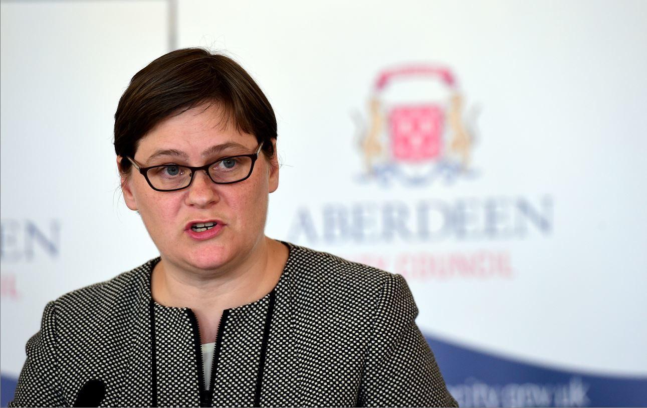 Angela Scott, Aberdeen City Council chief executive.