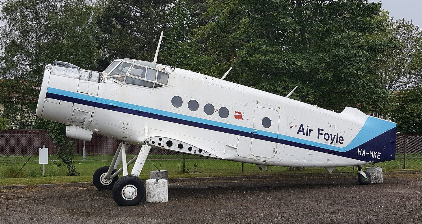 The Antonov 2 is the latest addition to the Morayvia collection.