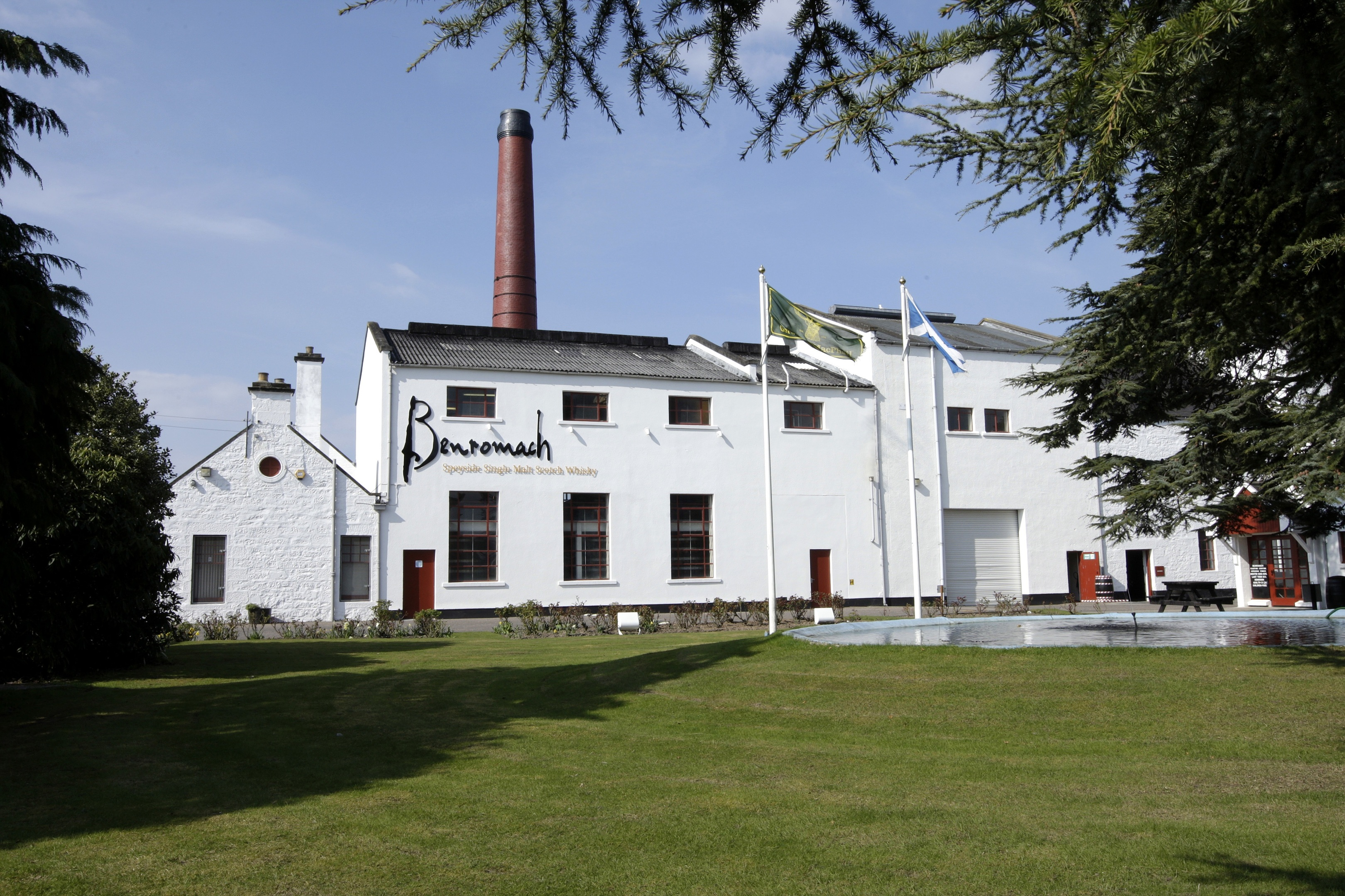 Benromach Distillery, in Forres.