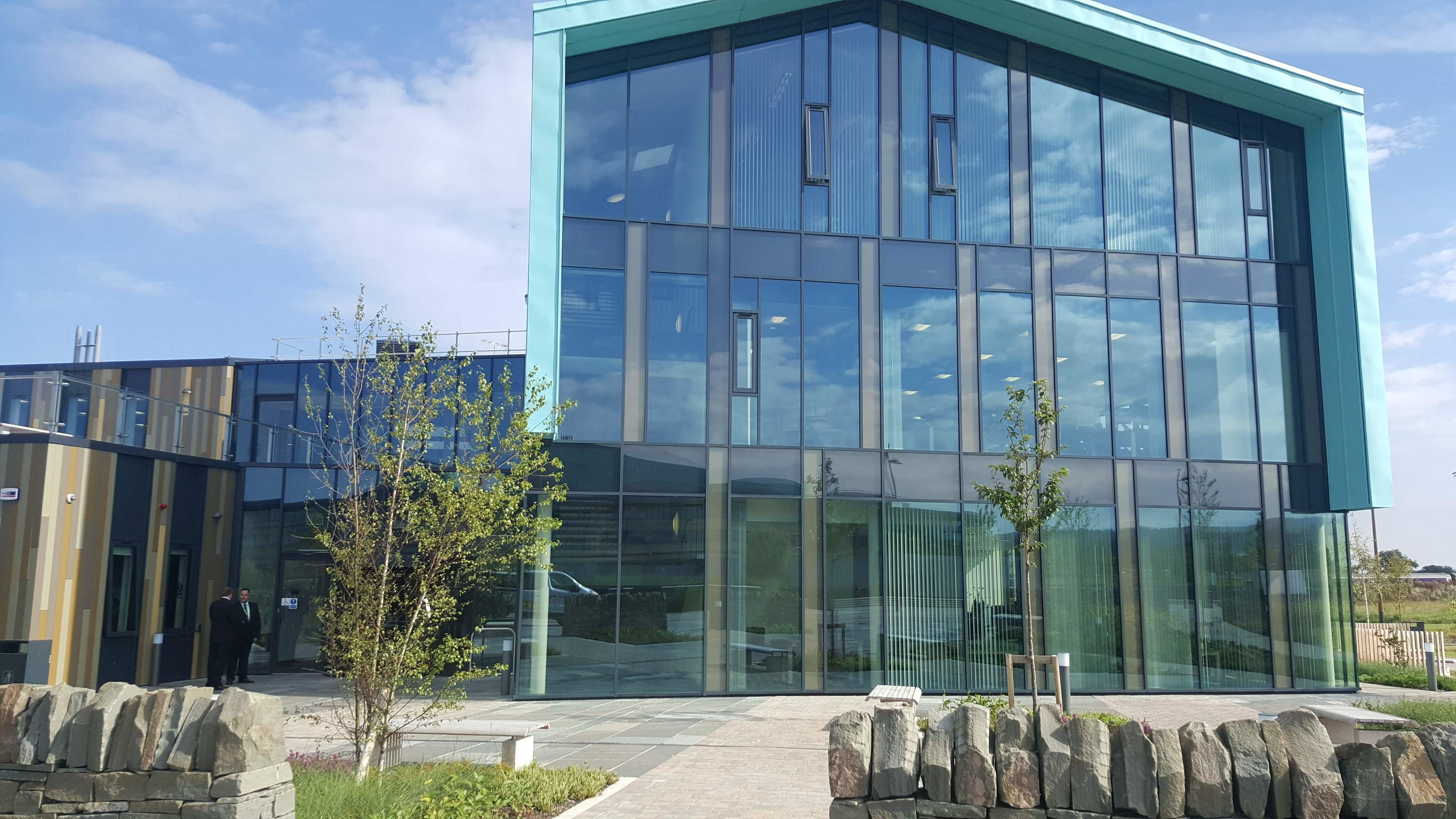 The An Lochran building on Inverness Campus.