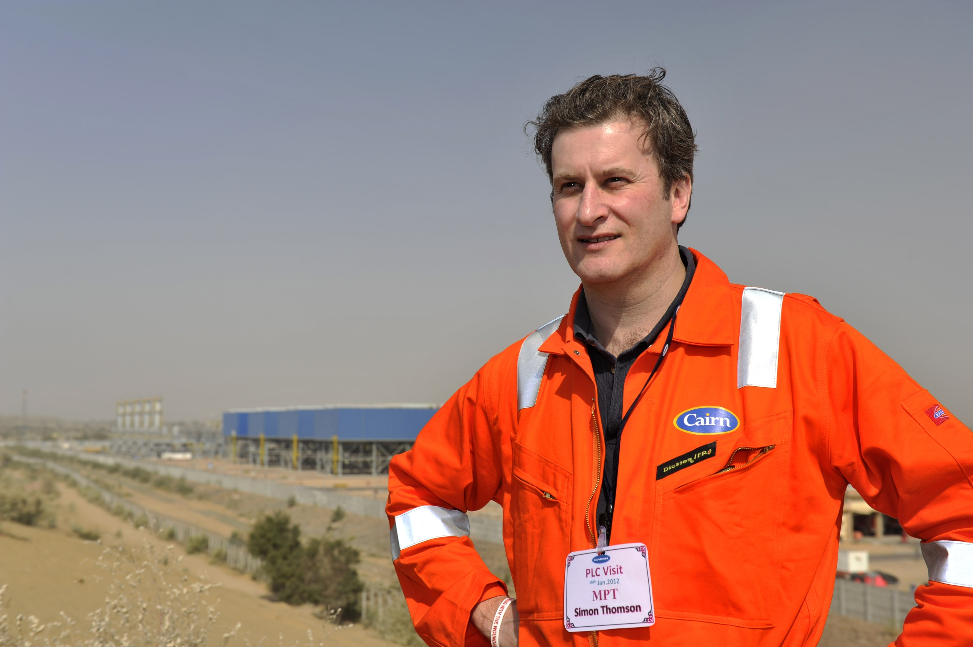 Simon Thomson, chief executive of Cairn Energy  (Submitted)